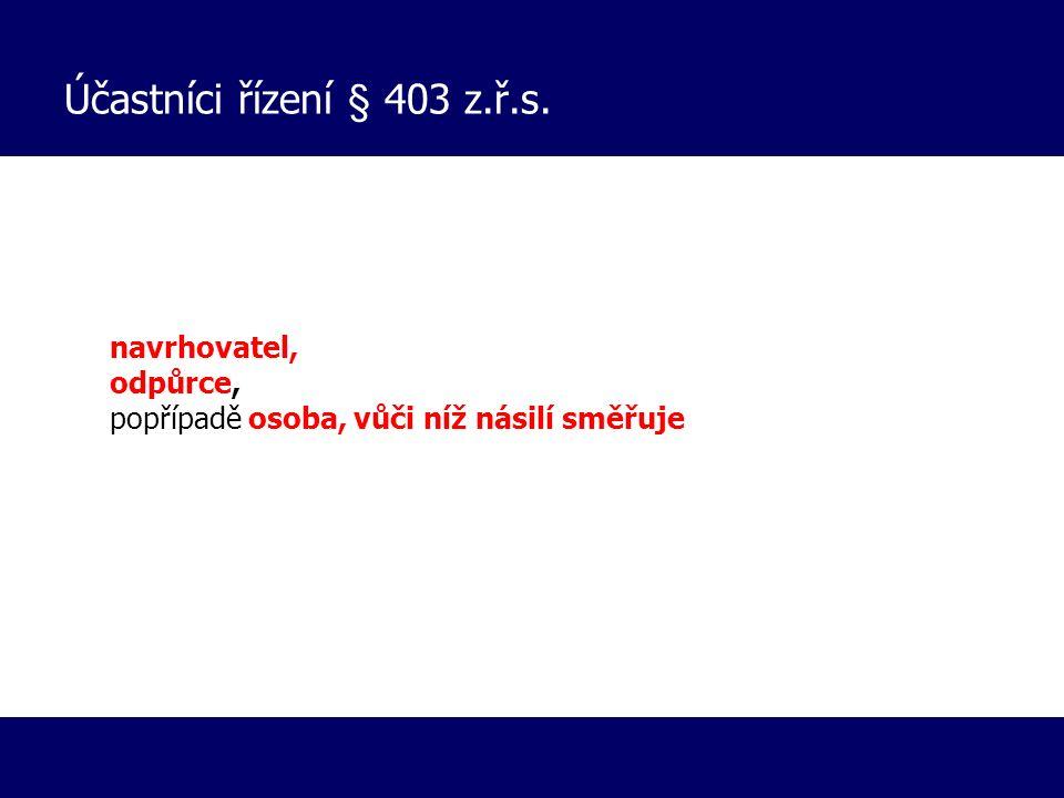 Případy 1) NÁVRH OSPOD OS Kroměříž 5 Nc 802/2014, KS 70 Co 66/2014 Odvolání nezletilí navrhovatelé (3, 7, 8) zastoupení advokátkou Za účasti matky (nelze uložit zákaz setkávání) a OSZ Odvolání -Pracovnice ospod nezná situaci v rodině -Kluci si vymýšlí -Dá klukům na zadek, ale ne v tvrzené intenzitě -Šlauchem -) aby ukázal jak byl trestán