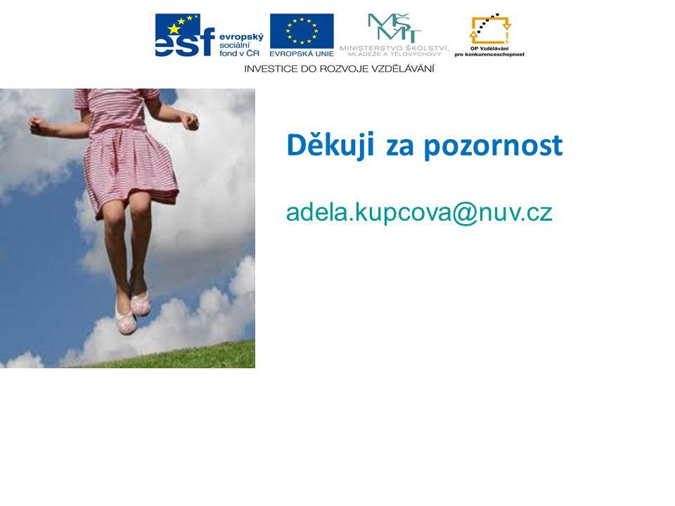 Děkuj i za pozornost adela.kupcova@nuv.cz