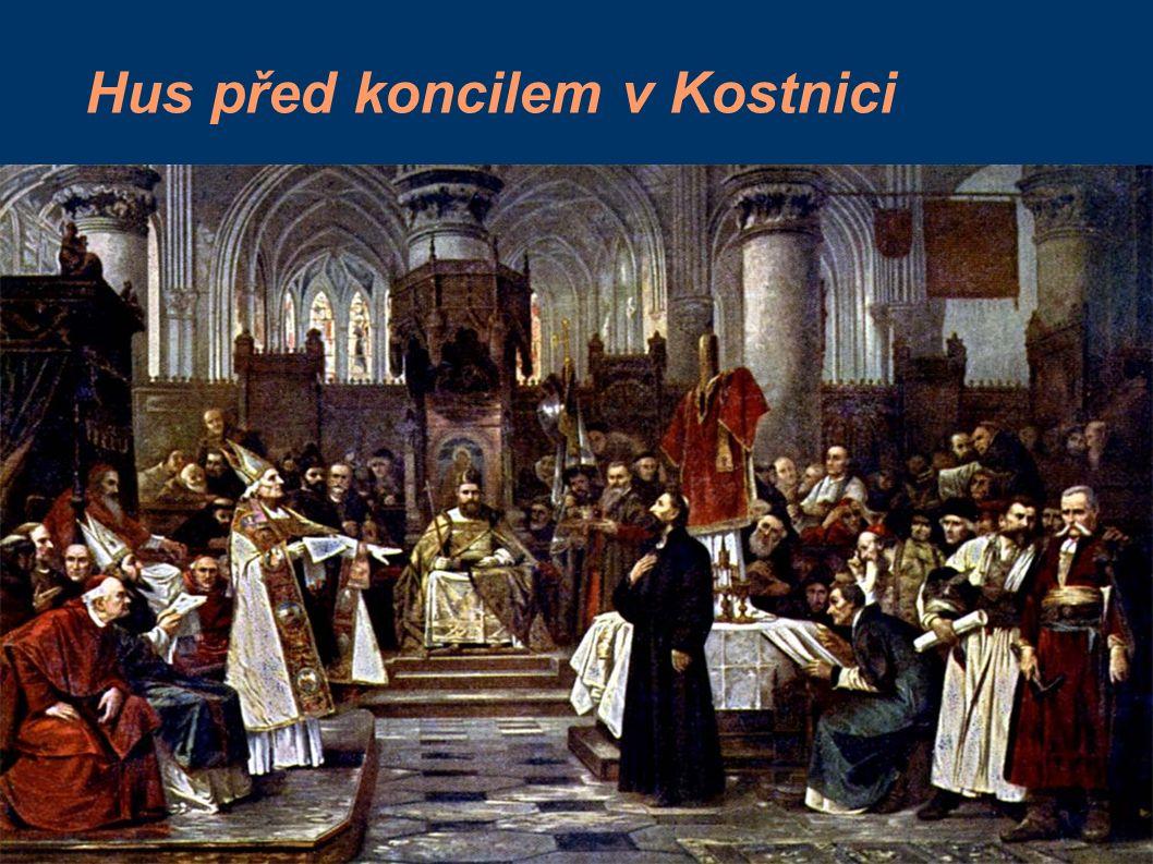 Hus před koncilem v Kostnici