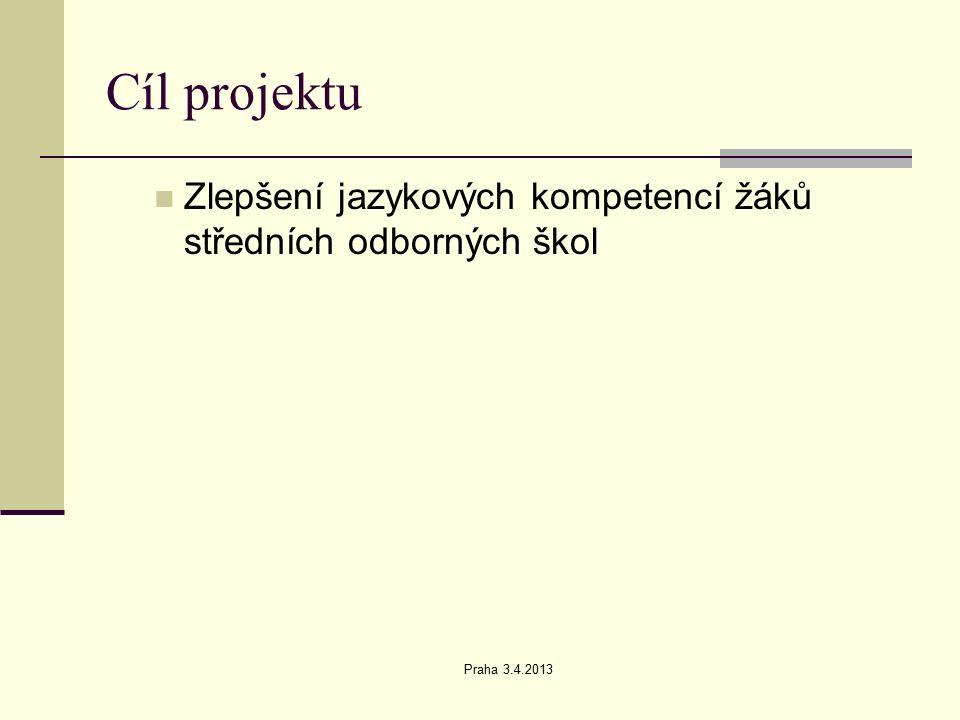 Praha 3.4.2013 Klíčová aktivita č. 5 Použití filmů a podpor ve výuce