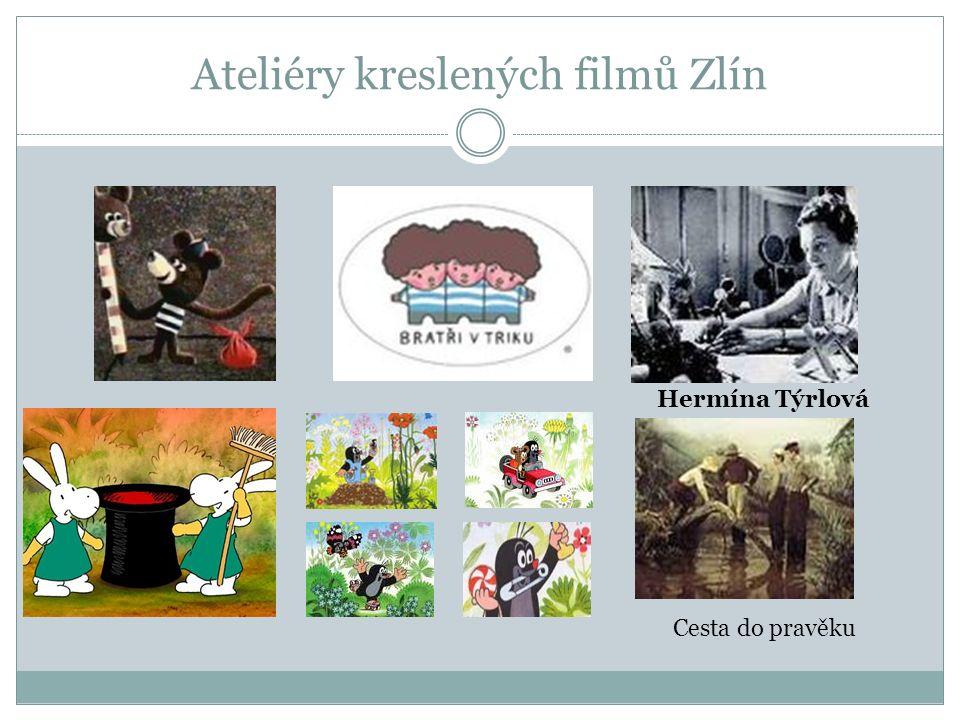 Ateliéry kreslených filmů Zlín Hermína Týrlová Cesta do pravěku