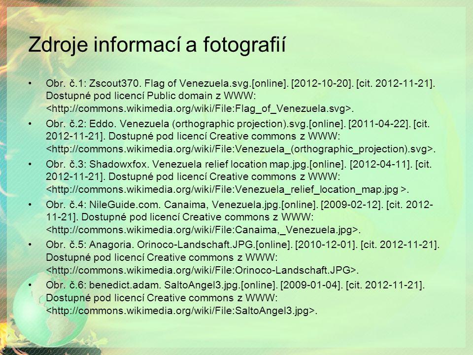 Zdroje informací a fotografií Obr. č.1: Zscout370.