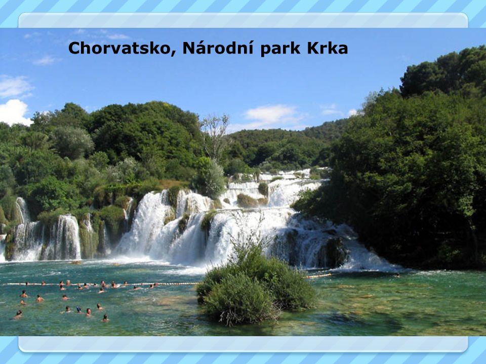 Chorvatsko, Národní park Krka
