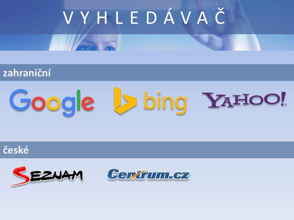zahraniční VYHLEDÁVAČ české