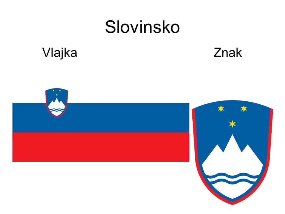 Slovinsko Vlajka Znak