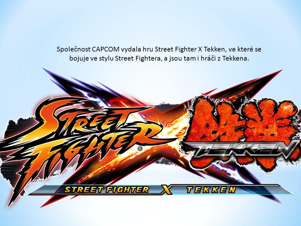 Společnost CAPCOM vydala hru Street Fighter X Tekken, ve které se bojuje ve stylu Street Fightera, a jsou tam i hráči z Tekkena.