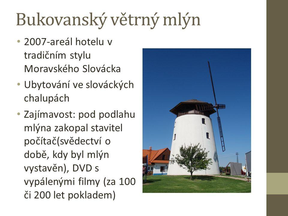 Větrný mlýn Starý Poddvorov