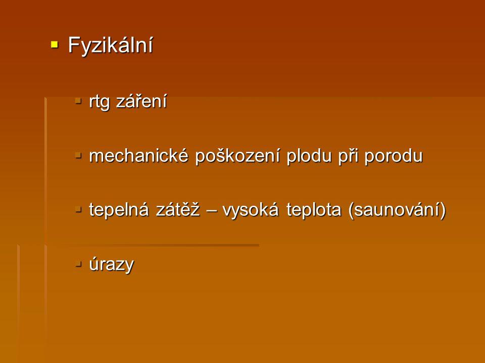 Zdroje a použitá literatura http://www.porodnice.cz/clanek/rentgen-tehotenstvi http://www.porodnice.cz/clanek/rentgen-tehotenstvi Šagát, T.