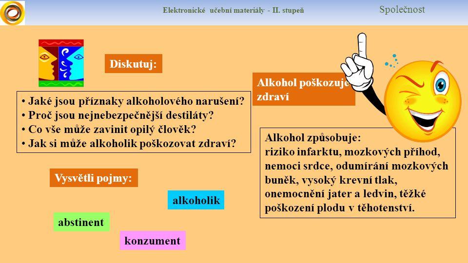 Elektronické učební materiály - II.stupeň Společnost Ankety Už si kouřil.
