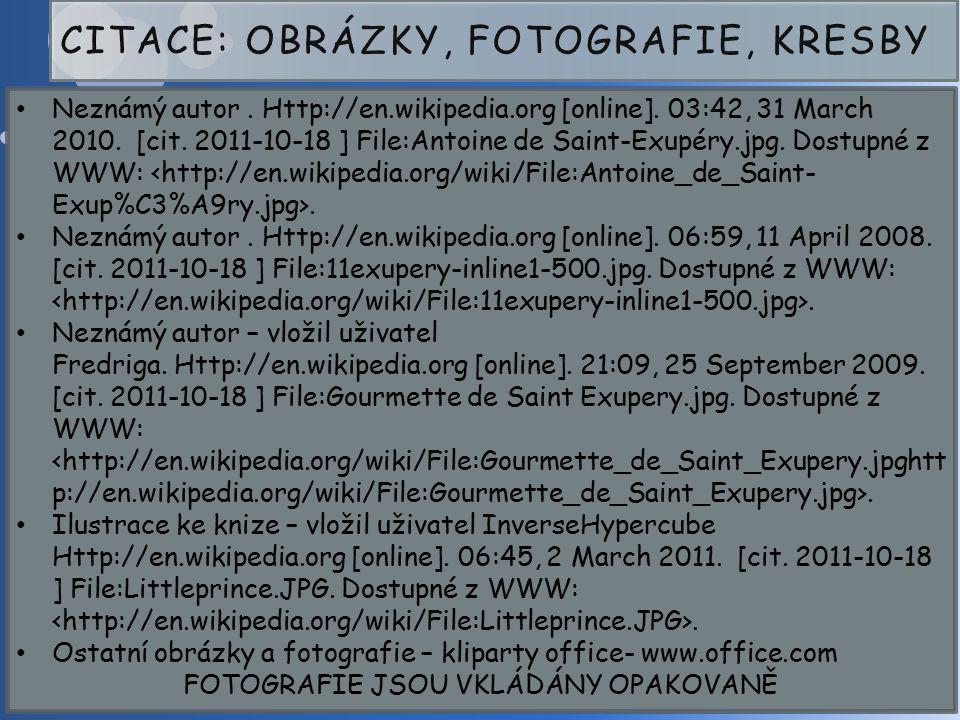 Neznámý autor. Http://en.wikipedia.org [online]. 03:42, 31 March 2010.