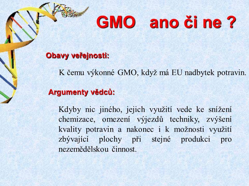 Kdyby nic jiného, jejich využití vede ke snížení chemizace, omezení výjezdů techniky, zvýšení kvality potravin a nakonec i k možnosti využití zbývající plochy při stejné produkci pro nezemědělskou činnost.