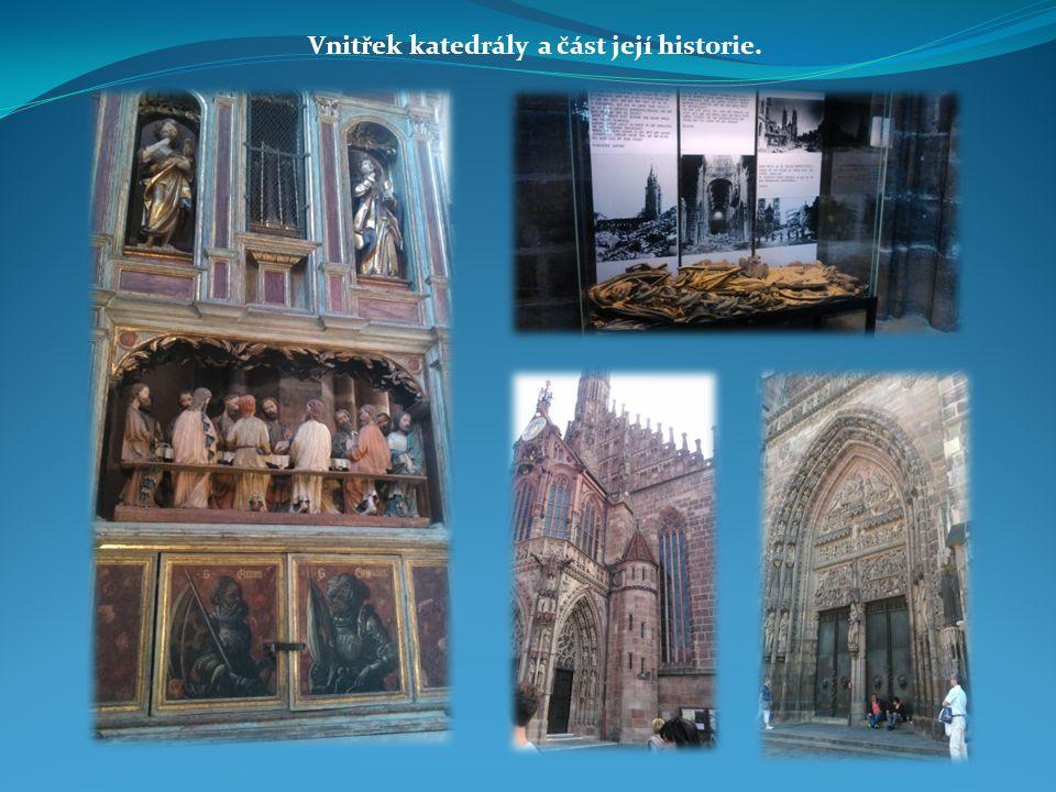 Vnitřek katedrály a část její historie.