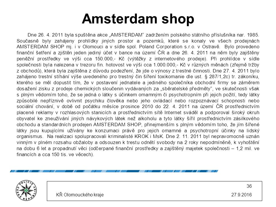 Amsterdam shop Dne 26. 4.
