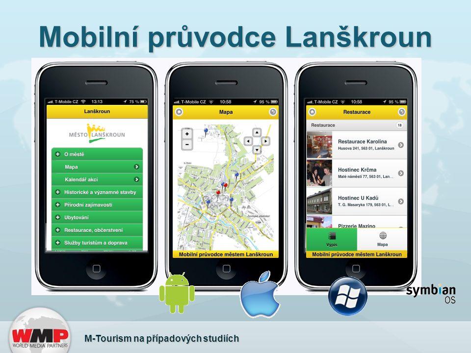 Mobilní průvodce Lanškroun M-Tourism na případových studiích