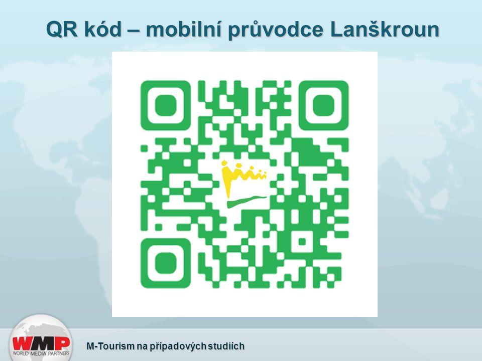 QR kód – mobilní průvodce Lanškroun M-Tourism na případových studiích