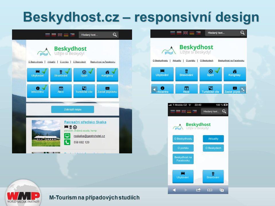 Beskydhost.cz – responsivní design M-Tourism na případových studiích