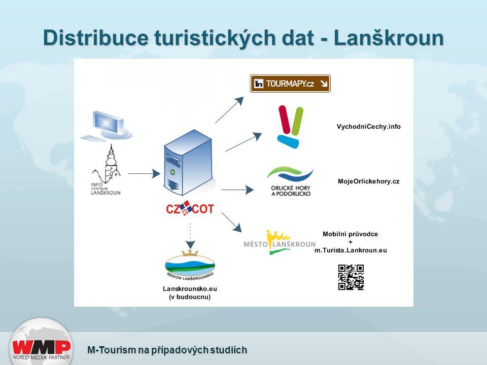Distribuce turistických dat - Lanškroun M-Tourism na případových studiích