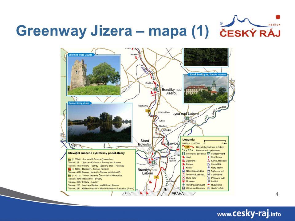 5 Greenway Jizera – mapa (2)