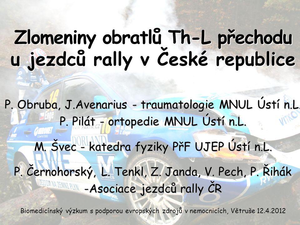 P. Obruba, J.Avenarius - traumatologie MNUL Ústí n.L.