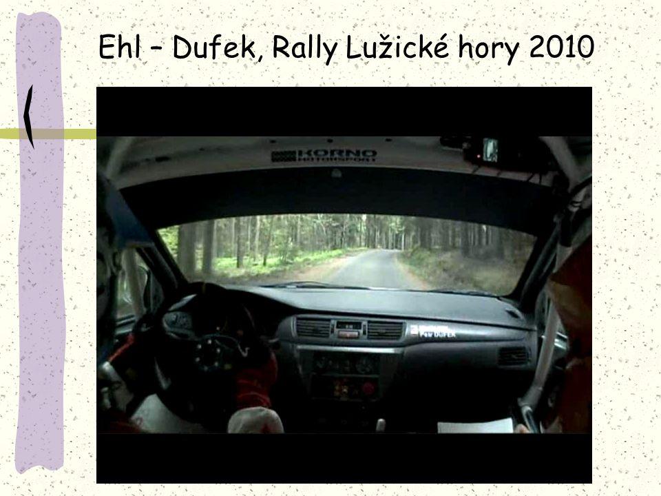 Ehl – Dufek, Rally Lužické hory 2010