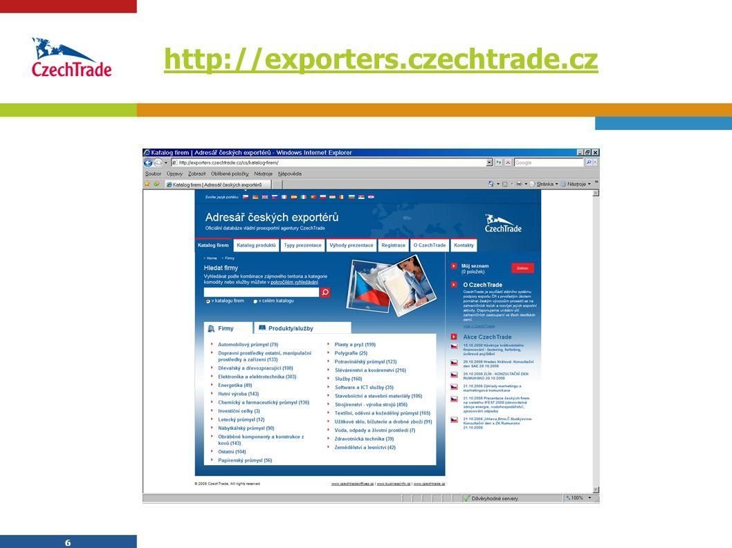 6 http://exporters.czechtrade.cz 6