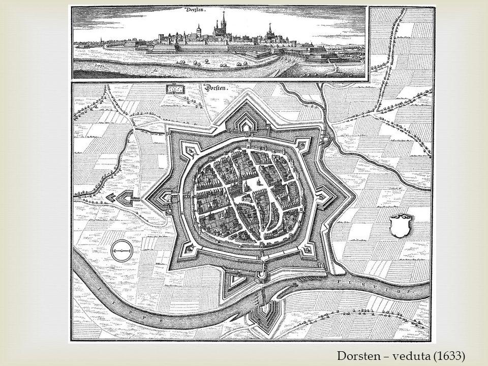 Dorsten – veduta (1633)