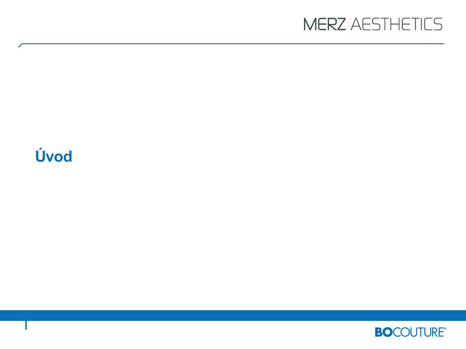 V této prezentaci v PowerPointu nabízí společnost Merz Pharmaceuticals školicí modul pro lékaře jako součást Plánu řízení rizik (RMP) u přípravku BOCOUTURE ® Cílem školicího modulu je zajistit bezpečnost použití BOCOUTURE ® se zvláštním ohledem na indikaci glabelárních vrásek* Tento školicí model podává k dosažení tohoto cíle komplexní informace týkající se kontraindikací, rizikových faktorů, možných nežádoucích účinků, vhodných rad pro pacienty, plánování léčby a dokumentace, a rovněž postupy aplikace pro léčbu glabelárních vrásek* Přípravek Bocouture je určen k přechodnému zlepšení vzhledu středních až závažných vertikálních vrásek mezi obočím, které se objevují u dospělých do 65 let, jestliže závažnost těchto vrásek má důležitý psychologický dopad na pacienta.