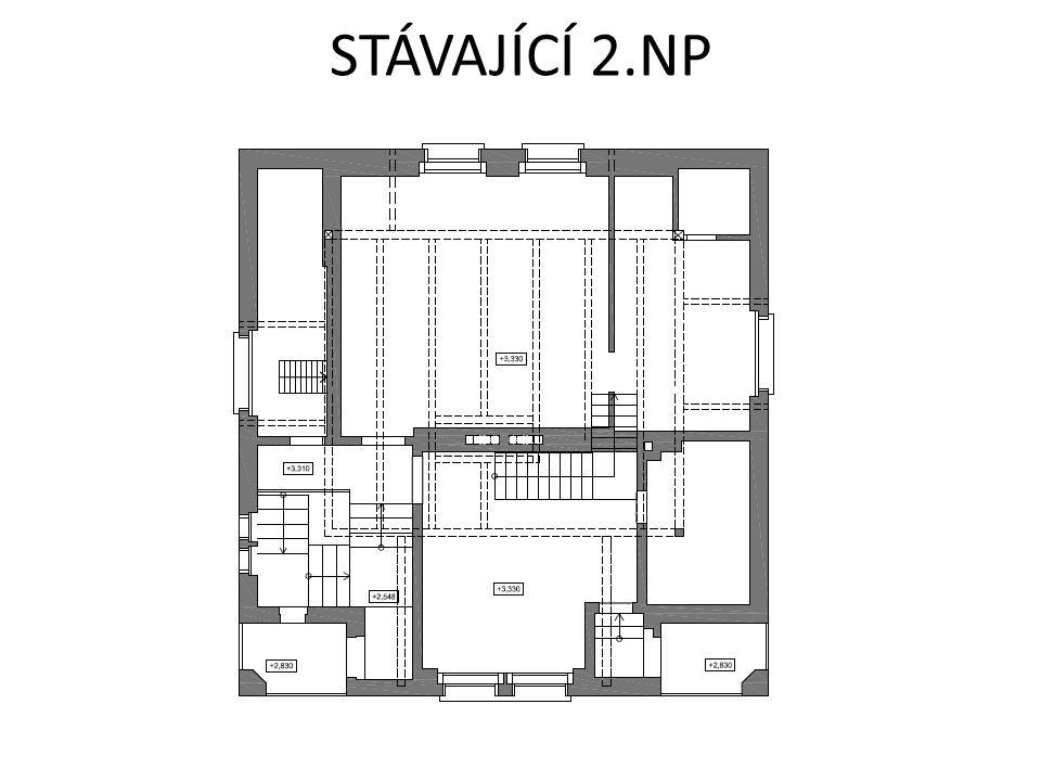 STÁVAJÍCÍ 2.NP