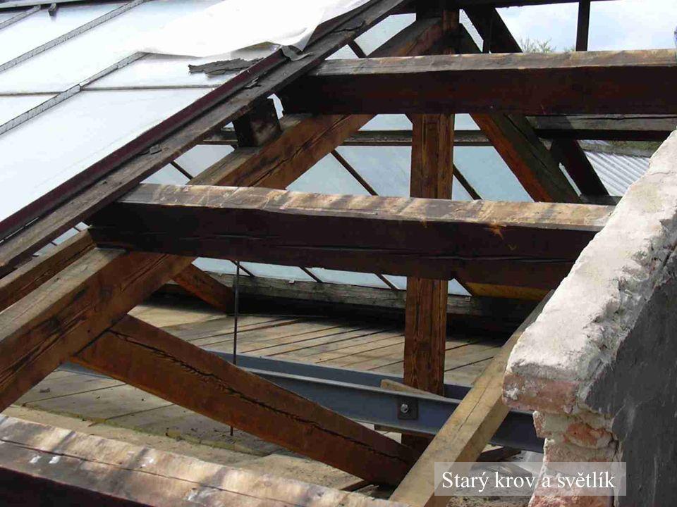 Starý krov a světlík