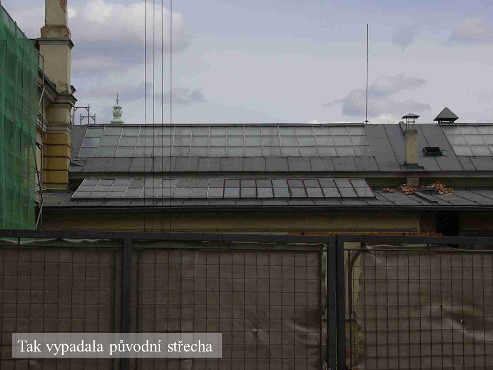 Původní střecha