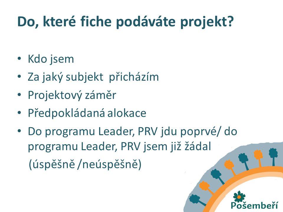 Projekt –bloková výjimka Projekty musí být v souladu s podmínkami nařízení Komise (ES) č.