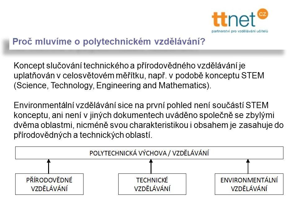 Proč mluvíme o polytechnickém vzdělávání.