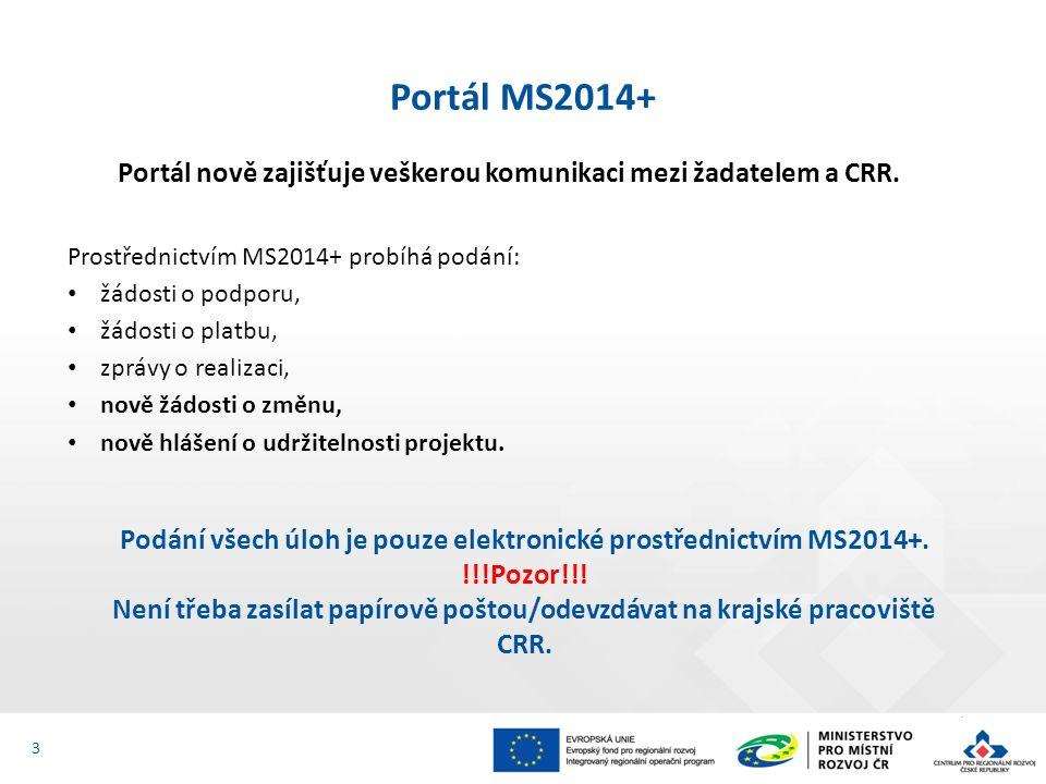 """Registrace do portálu IS KP14+ (I.) Registrační formulář - https://mseu.mssf.cz/https://mseu.mssf.cz/ Pro přístup do portálu IS KP14+ je nutné provést registraci přes tlačítko """"Registrace na úvodní obrazovce."""