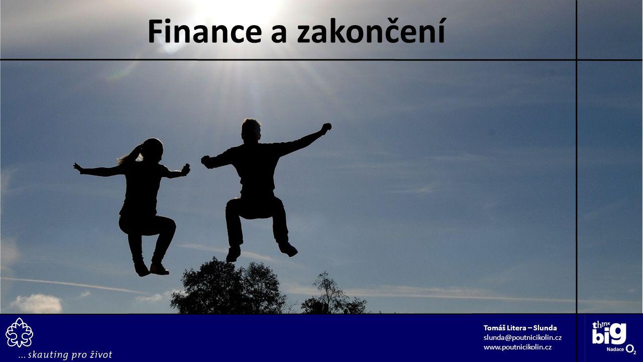 Tomáš Litera – Slunda slunda@poutnicikolin.cz www.poutnicikolin.cz Finance a zakončení
