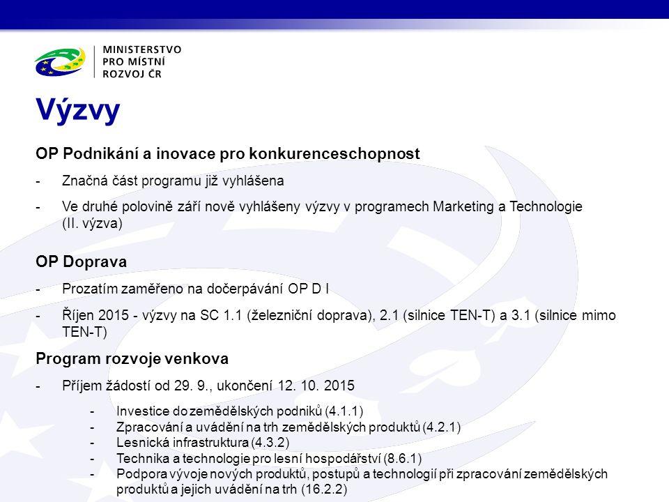 OP Věda, výzkum, vzdělávání -Místní akční plány rozvoje vzdělávání (příjem ŽoP 26.