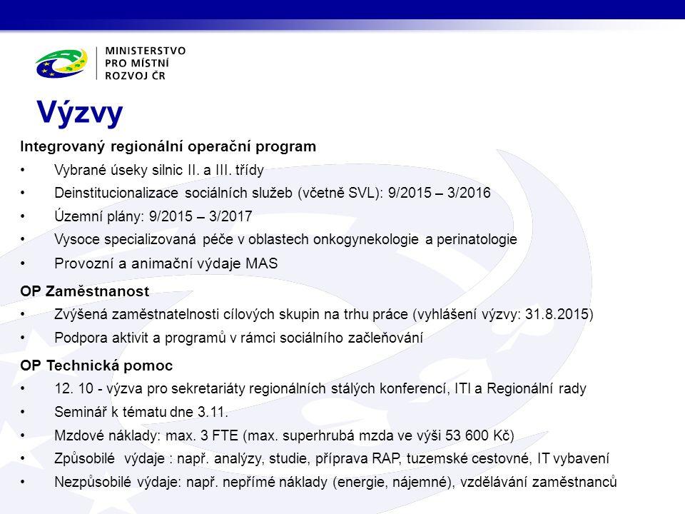 Integrovaný regionální operační program Vybrané úseky silnic II.