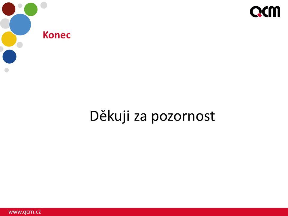 www.qcm.cz Konec Děkuji za pozornost