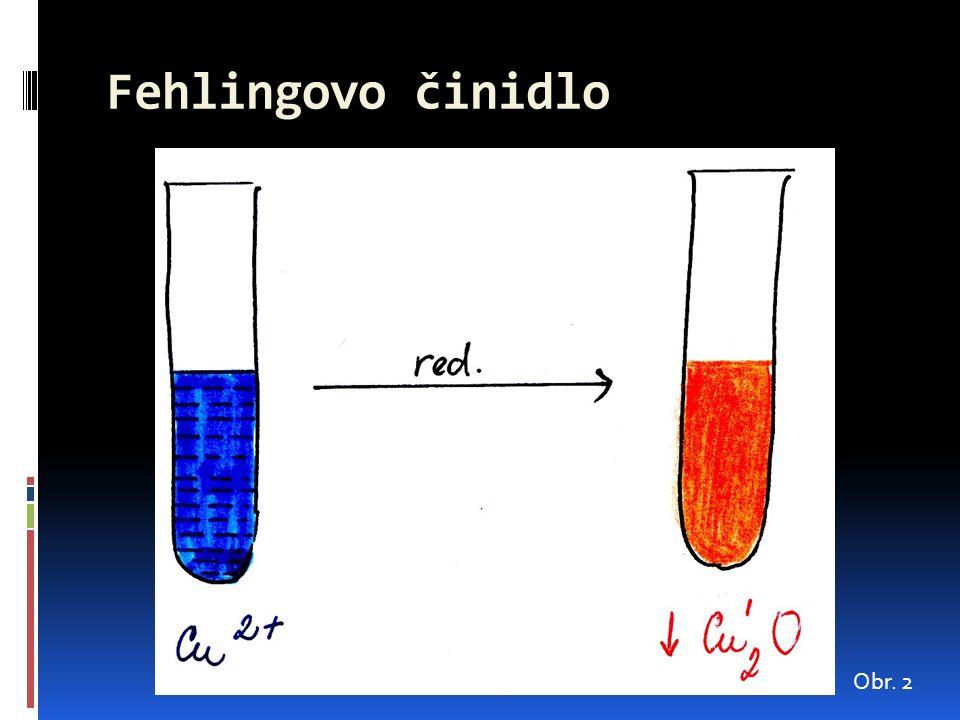 Fehlingovo činidlo Obr. 2