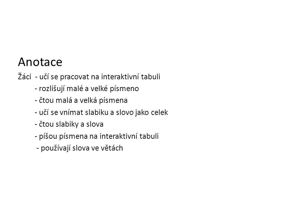 NÁZEV ŠKOLY: Základní škola Strančice, okres Praha - východ AUTOR: NÁZEV:VY_32_INOVACE_3.2.3.1 L 16 TEMA: Slabiky ta te to tu ČÍSLO PROJEKTU: CZ.1.07/
