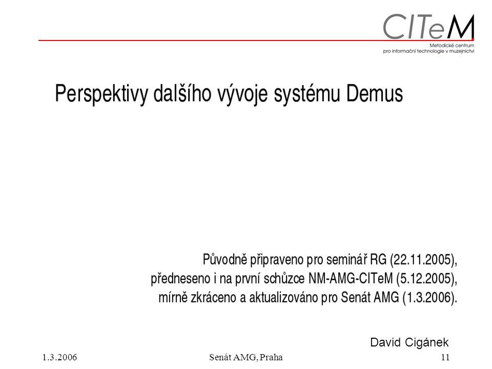 1.3.2006Senát AMG, Praha11 David Cigánek