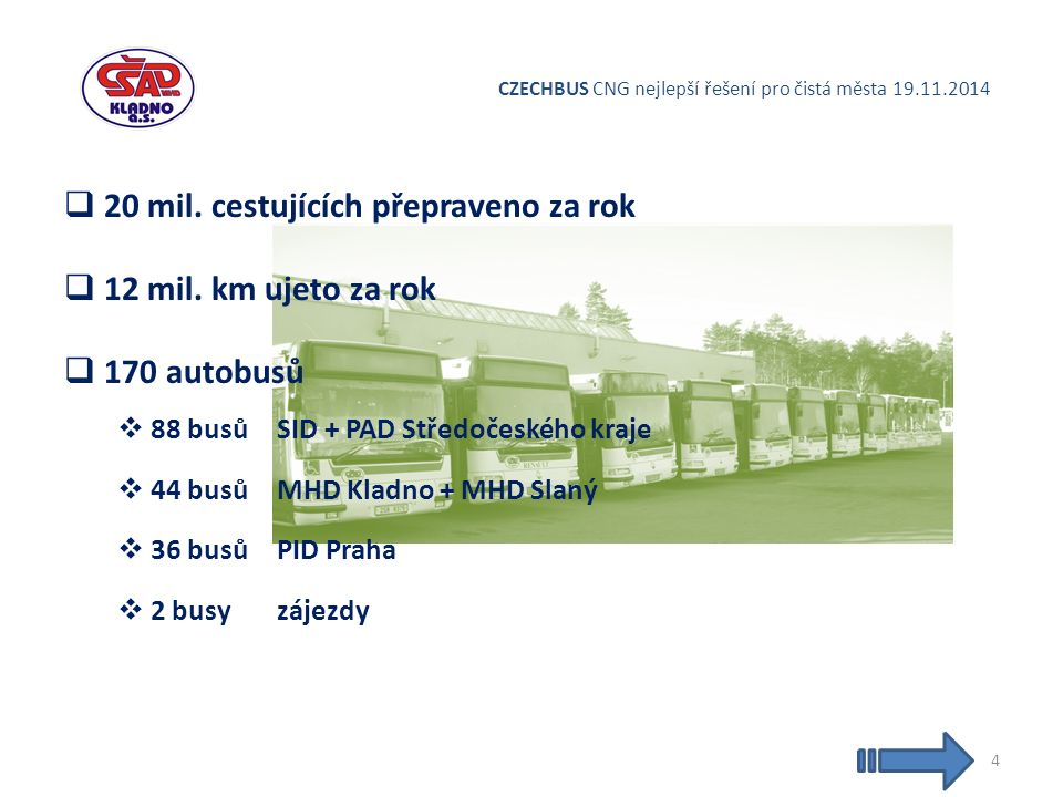 CZECHBUS CNG nejlepší řešení pro čistá města 19.11.2014  20 mil.