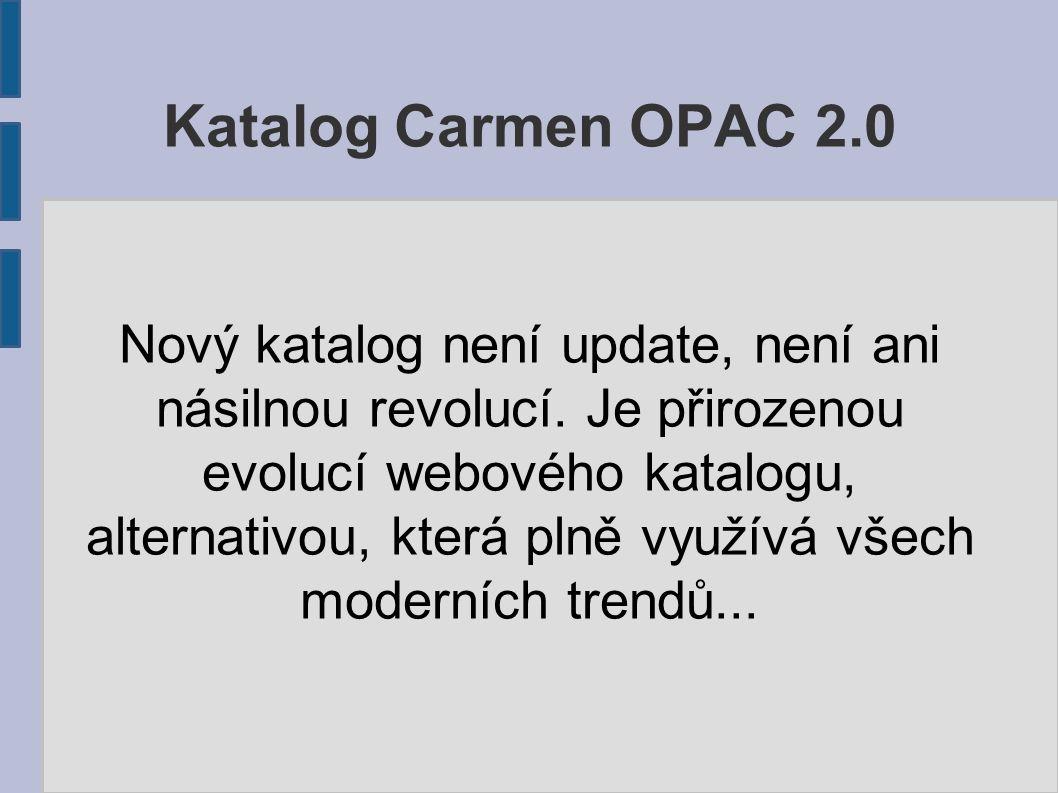 Nový katalog není update, není ani násilnou revolucí.