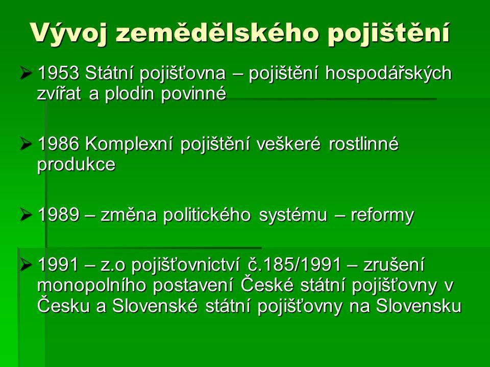 Reálné řešení  Ministerstvo Zemědělství ČR, vyčlení každoročně ze svého rozpočtu 1,6 mld.