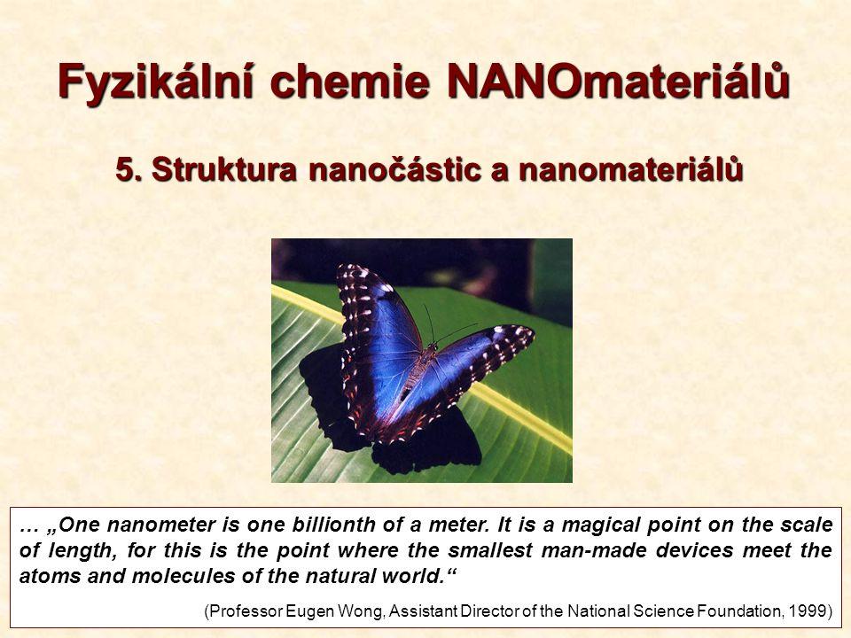 Povrchová komprese nanočástic Au 1830