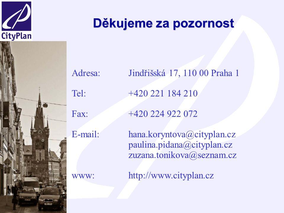 Posouzení vlivů Územní energetické koncepce Libereckého kraje na životní prostředí a veřejné zdraví 19 Děkujeme za pozornost Adresa: Jindřišská 17, 110 00 Praha 1 Tel: +420 221 184 210 Fax: +420 224 922 072 E-mail: hana.koryntova@cityplan.cz paulina.pidana@cityplan.cz zuzana.tonikova@seznam.cz www: http://www.cityplan.cz