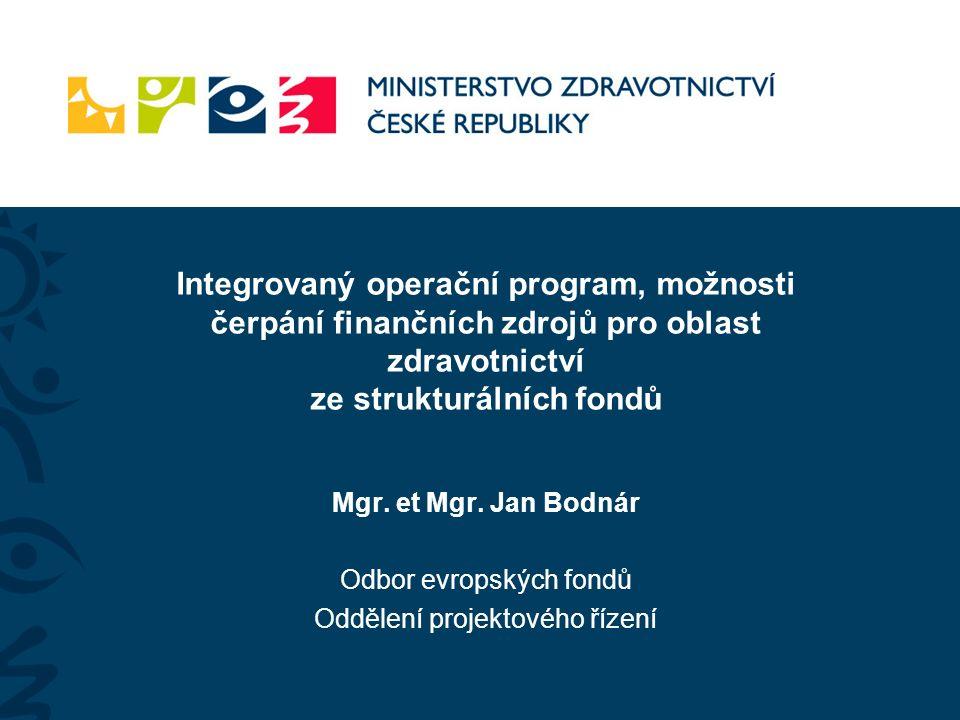 """Integrovaný operační program (IOP) OP Životní prostředí (OP ŽP) OP Podnikání a inovace (OPPI) OP Praha Konkurenceschopnost (OPPK) Regionální operační programy (ROP) OP Lidské zdroje a zaměstnanost (OP LZZ) OP Praha Adaptabilita (OP PA) OP Vzdělávání pro konkurenceschopnost (OP VK) OP Výzkum a vývoj pro inovace (VaVpI) Přehled operačních programů """"OP"""