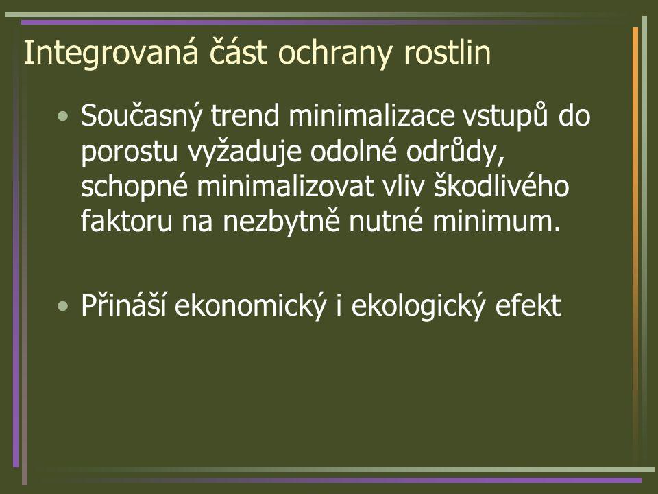 Genetické zdroje rezistence bramboru Solanum demissum R1 – R10 Solanum tuberosum ssp.
