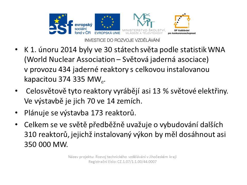 Název projektu: Rozvoj technického vzdělávání v Jihočeském kraji Registrační číslo: CZ.1.07/1.1.00/44.0007 V Temelíně se velmi přísně monitoruje radiace Mezi reaktorem a bránou elektrárny se u kontrolovaných vstupů nachází dozimetrické kontroly.