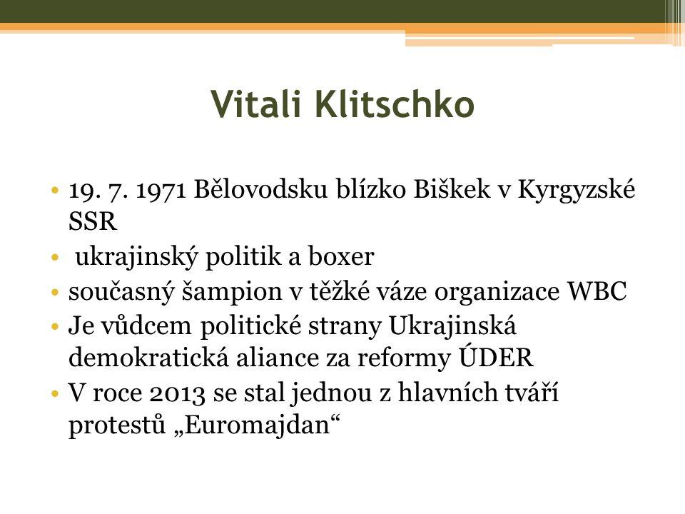 Vitali Klitschko 19. 7.