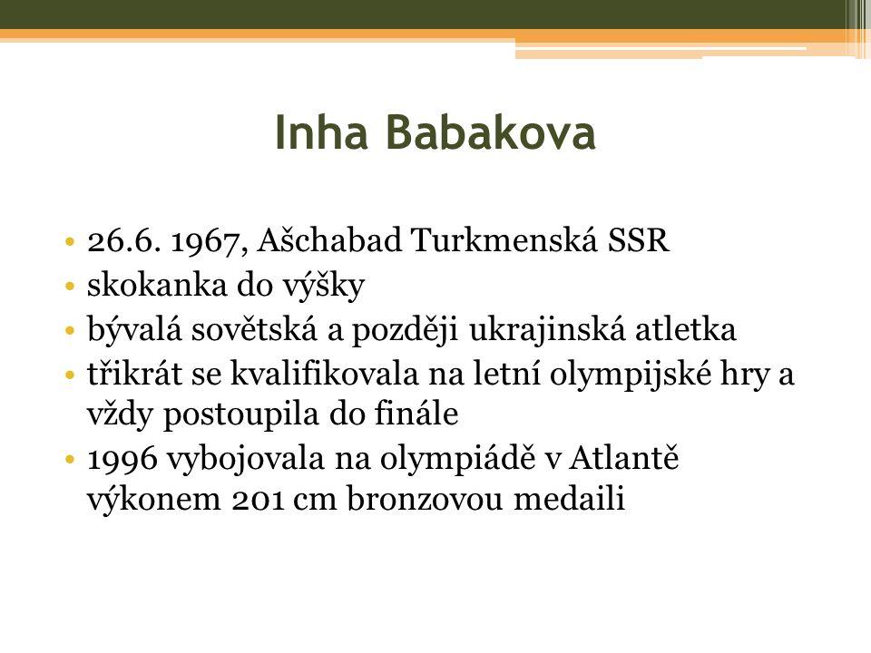 Inha Babakova 26.6.
